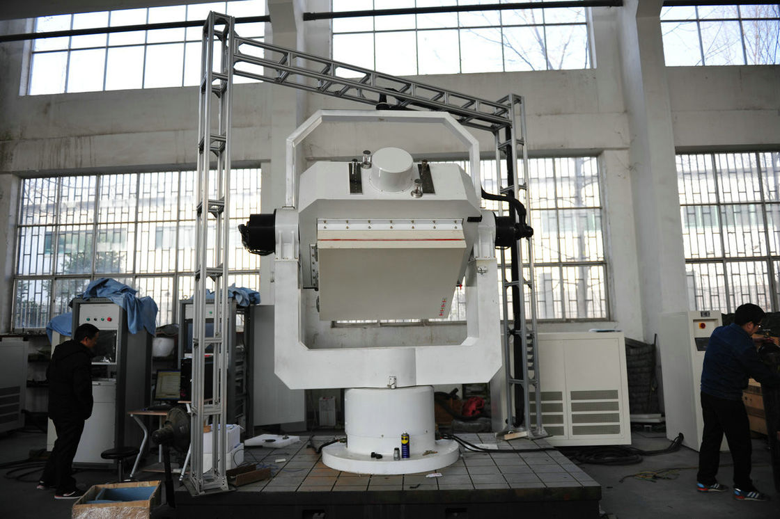 0° And 90° Position Lock 3 Axis Rate Table With Temperature Chamber